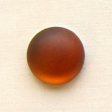 14mm Round Lunasoft Cabochon Copper - 1